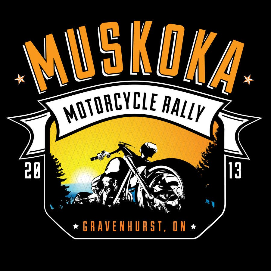 #41 for Logo Design for Muskoka Motorcycle Rally by KVdesigns