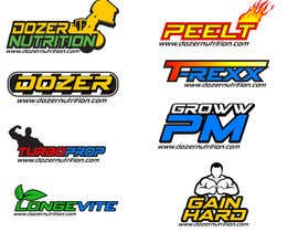 #38 untuk Design a Logo for A Sports Nutrition Company and its produ oleh magepana