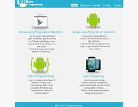 #7 for Design a Website Mockup (Design ideas not HTML) by akgadekar03