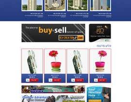 Nro 24 kilpailuun design homepage and layout for a site käyttäjältä gravitygraphics7