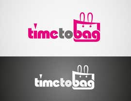 #203 untuk Logo Design for TIME TO BAG oleh airtalk