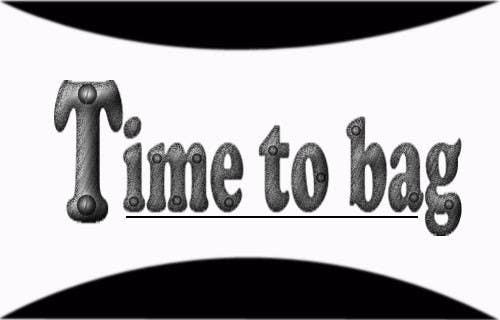 Kilpailutyö #119 kilpailussa Logo Design for TIME TO BAG
