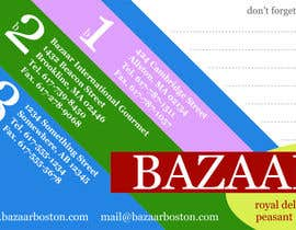 #5 para Business Card Design for Bazaar por colourpie