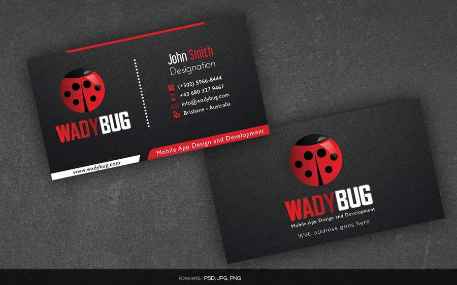 Entry 50 by arnee90 for design business card for mobile app contest entry 50 for design business card for mobile app development company colourmoves