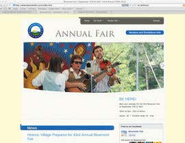 #67 para Logo Design for Small town in Virginia seeks logo / small banner for annual Town Fair website por AnaCZ