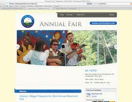 AnaCZ tarafından Logo Design for Small town in Virginia seeks logo / small banner for annual Town Fair website için no 38