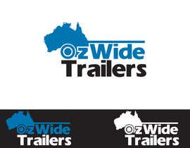 nº 3 pour Logo Design for Oz Wide Trailers par winarto2012