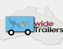 #54 para Logo Design for Oz Wide Trailers por Amadridejo33