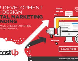 #46 for Design a Facebook Ad Banner for Full Service Web Design Agency by madartboard
