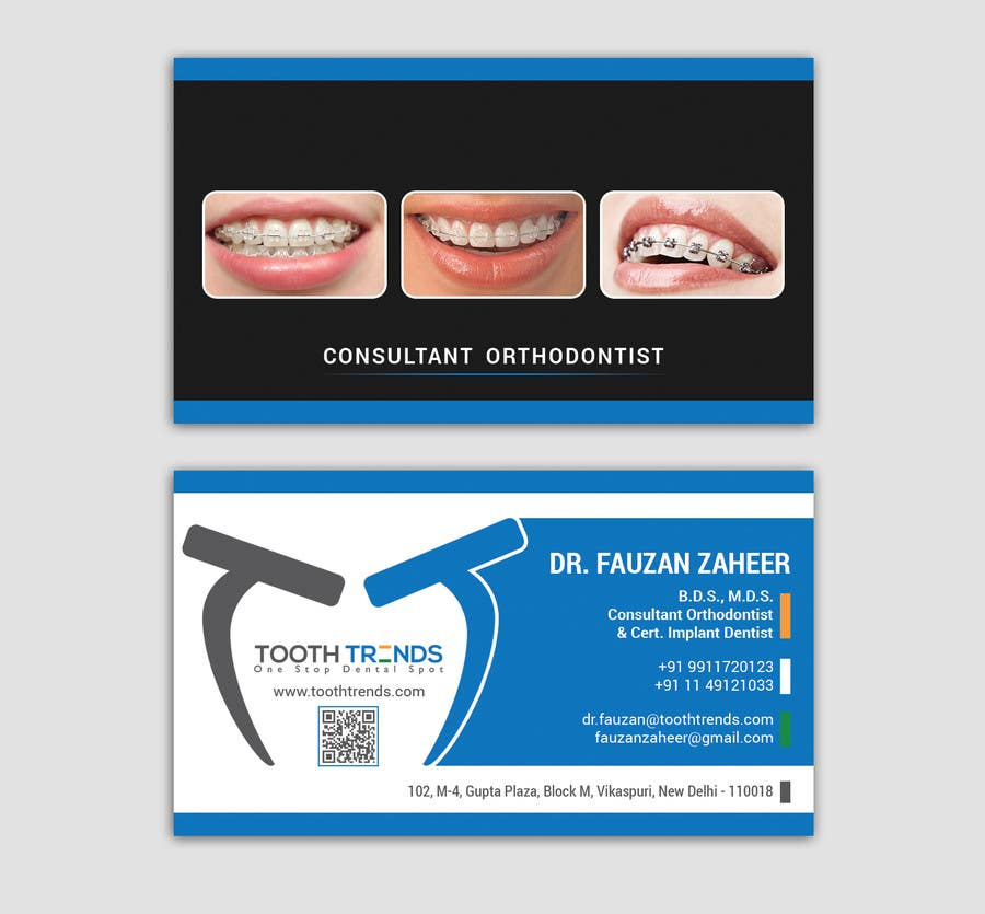 Entry 174 by smartghart for creative business card and letterhead contest entry 174 for creative business card and letterhead design required for an orthodontist reheart Choice Image