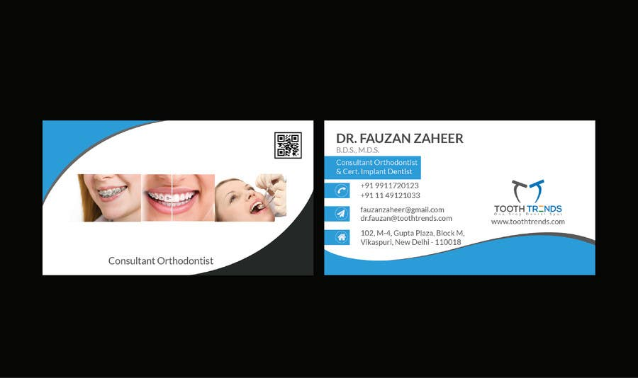 Entry 125 by sisaifsd for creative business card and letterhead contest entry 125 for creative business card and letterhead design required for an orthodontist reheart Choice Image