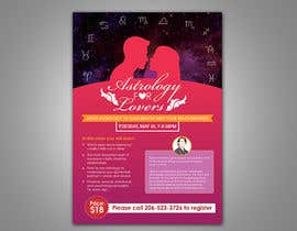 #11 for Astrology for Lovers Lecture Flyer by m99