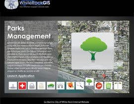 #8 untuk Internal GIS Website Homepage Design for City of White Rock oleh AlexandraEdits