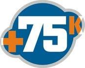 Graphic Design Kilpailutyö #43 kilpailuun Logo Design for +75K