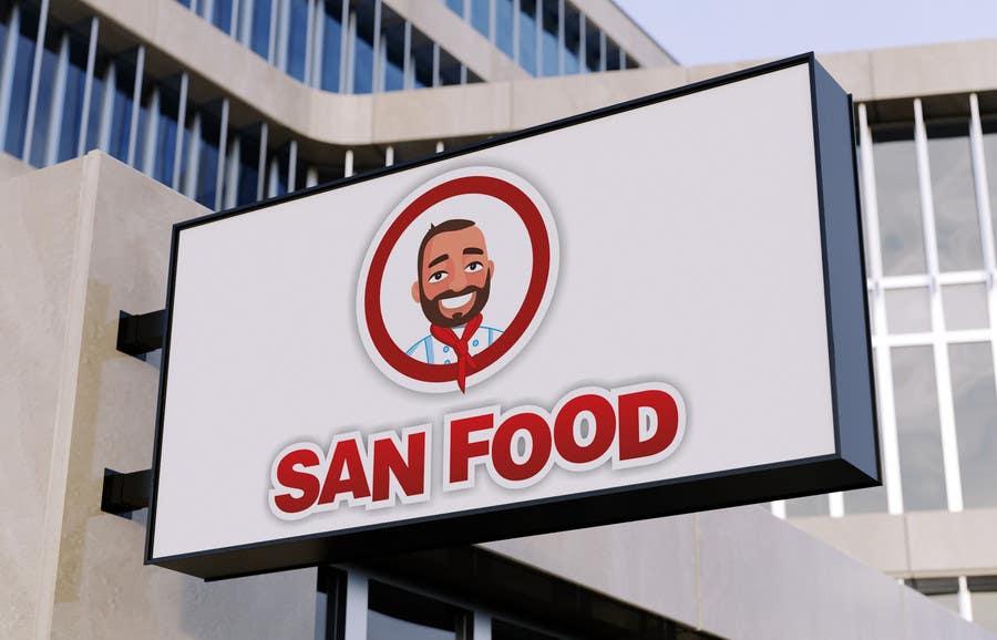 #60 for Logo for SAN Fast Food by namunamu