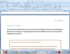 #30 for Word Document Template af Floralfs