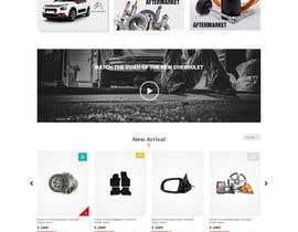 #4 for Motorsport psd for Wordpress by RamisRathore
