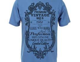 #9 para Finish T-shirt design de rizaureyes8