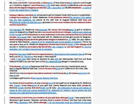 #18 para Rewrite a letter de Sidodus