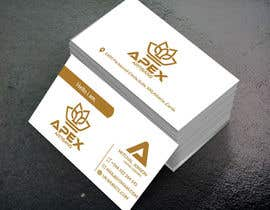 #40 para Design Business Cards for Apex Artisans de jewelrana7540
