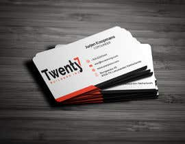 #323 for Design the most stylish and moden Business Card av CreativeRiver