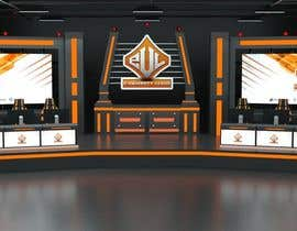 #20 for eSports Stage Studio Design av AlexAugustine