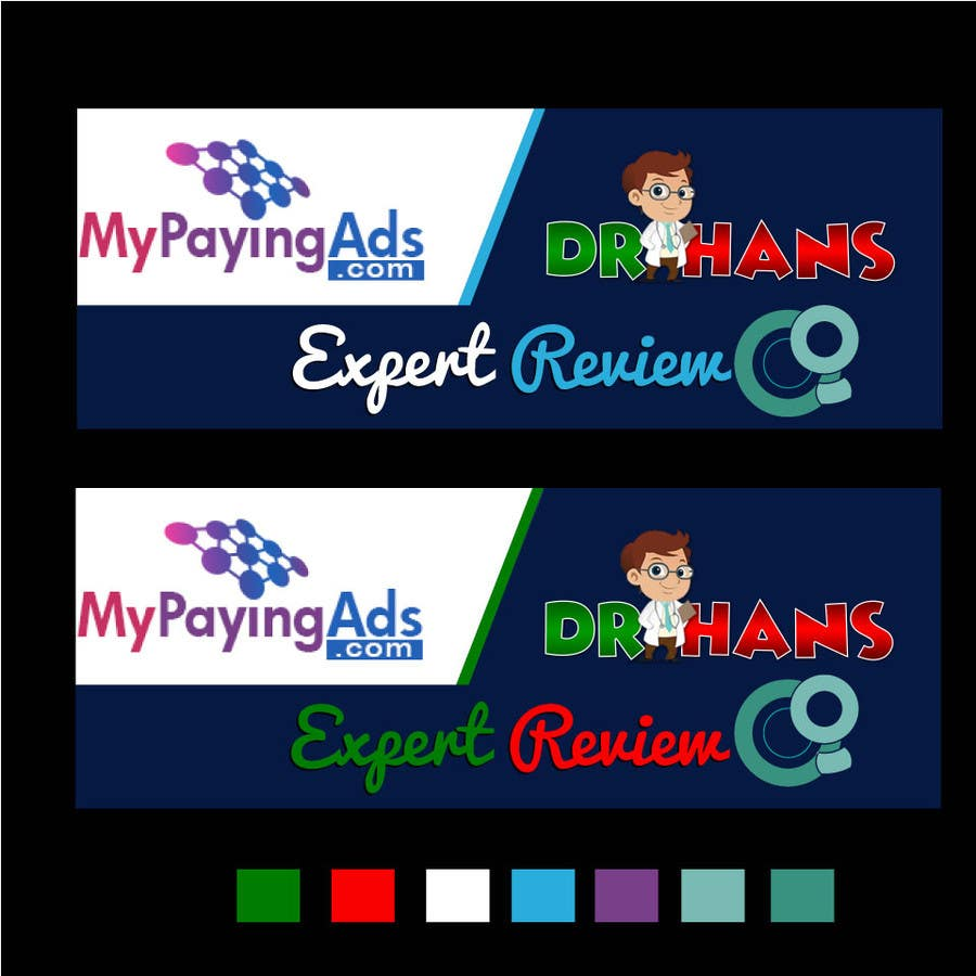 Contest Entry #3 for Design a Banner for DrHans