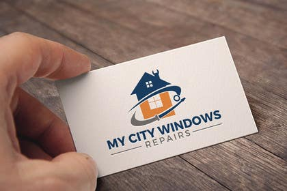 #185 for Design a Logo Window Repair by deep844972