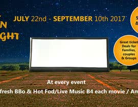 #6 for Outdoor Cinema Banner by ibrahimbd2042
