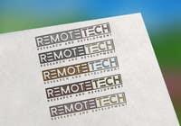 Graphic Design Inscrição do Concurso Nº102 para LOGO REMOTE TECH - Research and Development