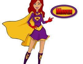 #57 for Design a cartoon super hero for new company by GFXNinja