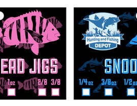 #1 for Fishing Jig Company Packaging for Jigs by brewersdesignsoc