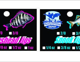 #15 for Fishing Jig Company Packaging for Jigs by azimovas