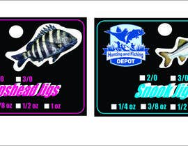 #16 for Fishing Jig Company Packaging for Jigs by azimovas