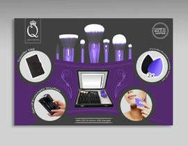 #14 for Print and Packaging Designs for Cosmetic box with brushes by merybaez