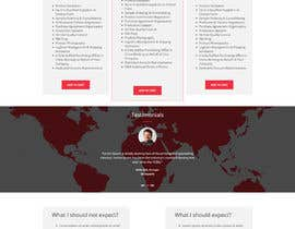 #7 for Mockup for Great Landing Page for a website in consulting insdustry by SaurabhBorse