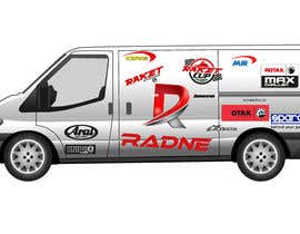 #34 for Design Transport Van with logos by ahirmondal