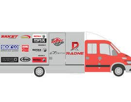 #115 for Design Transport Van with logos by graphiceager