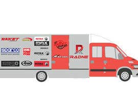 #116 for Design Transport Van with logos by graphiceager