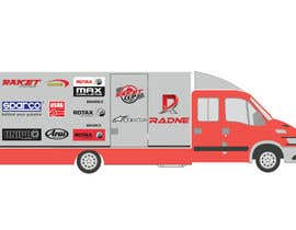 #120 for Design Transport Van with logos by graphiceager