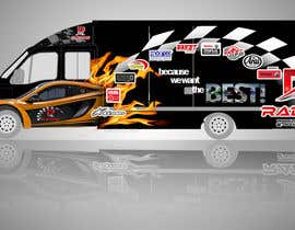 #118 for Design Transport Van with logos by kismet053087