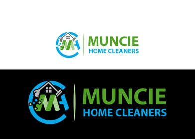#85 for Design a Logo: MUNCIE HOME CLEANERS by RealReflection
