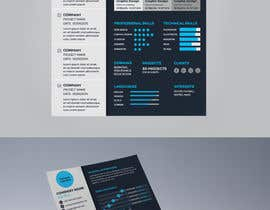 #16 for Design a graphic CV by chandrabhushan88