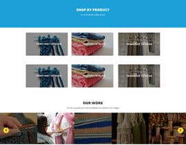 #9 for Craft and Trimming Home Page by zumbic