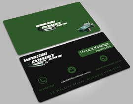 #75 for Design Business Card - Exhaust Centre by abuhanifaeu