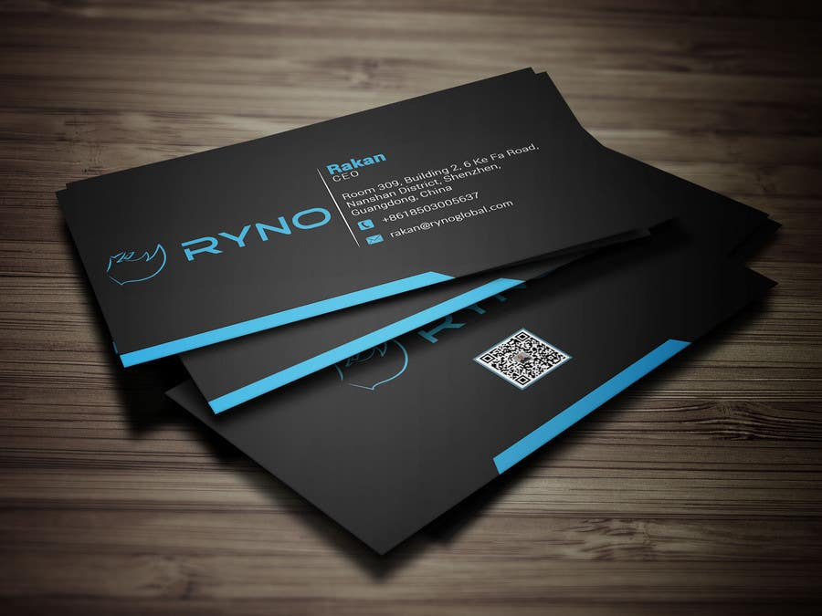 Entry #111 by ibrahim4160 for Create double sided business card ...