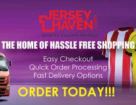 #41 for Wide Banner Design for Custom Jersey Company by creativeashu110