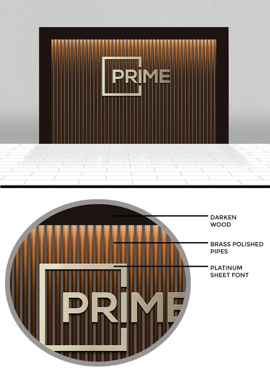 Contest Entry #104 for Design corporate wall signage
