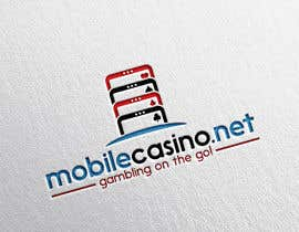 #128 for Logo Design for Gambling site mobilecasino.net by eddesignswork