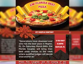 #11 for SW FL Best Pizza by Couple Flyer by vectordot